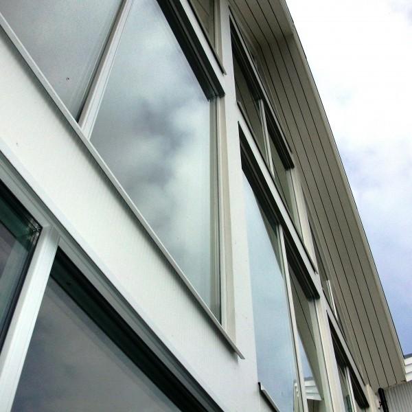 Modrna fönster
