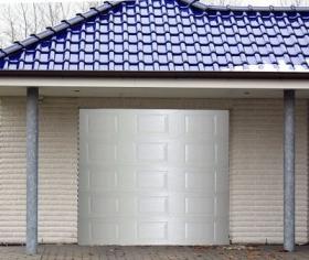 Garageport vit