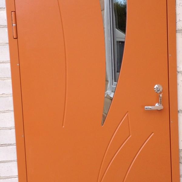 orange dörr