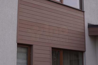 brun fasadpanel