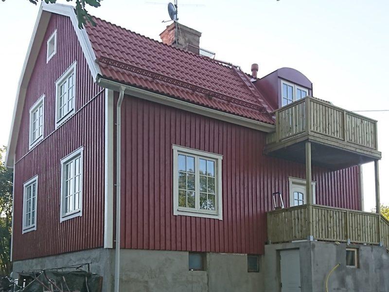Husrenovering i Älvsjö