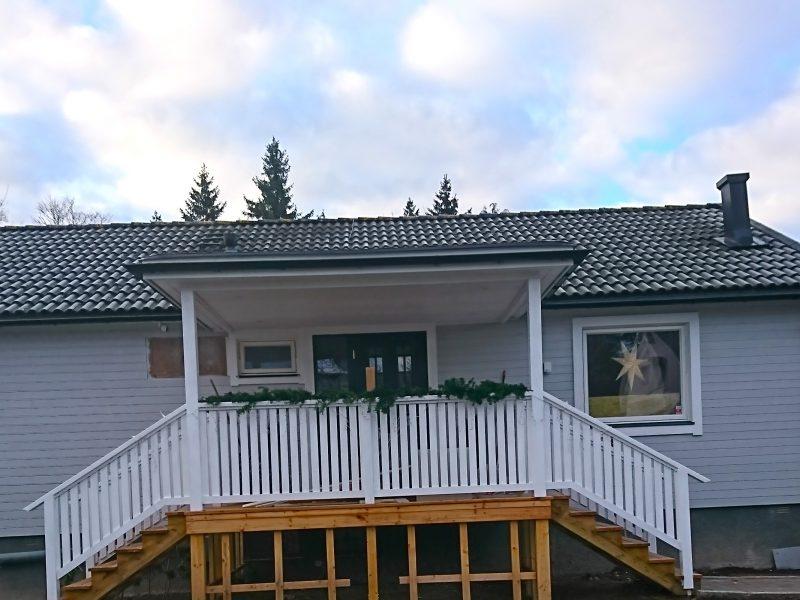 Tillbyggnad i Sollentuna